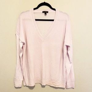 J. Crew Long Sleeve V-Neck Sweater Large